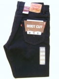 Levis 517 Black. Boot Cut.