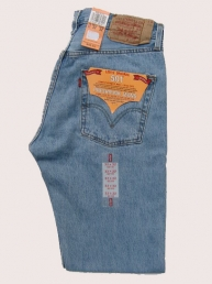 Levis 501 light stonewash