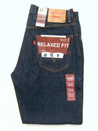Levis 550 dark denim. Relaxed Fit.