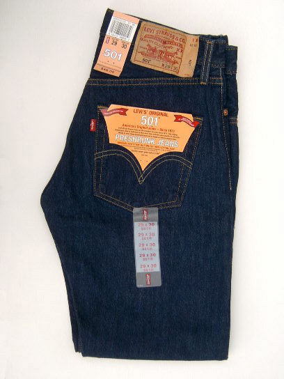 501 Levis original dark denim  5902d98255